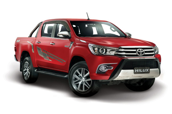 Toyota Hilux accesorizada