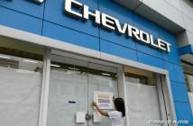 Chevrolet concesionario cerrado