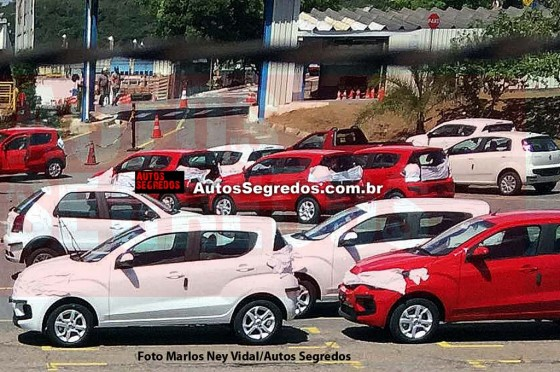 Fiat Mobi - Foto: Autos Segredos