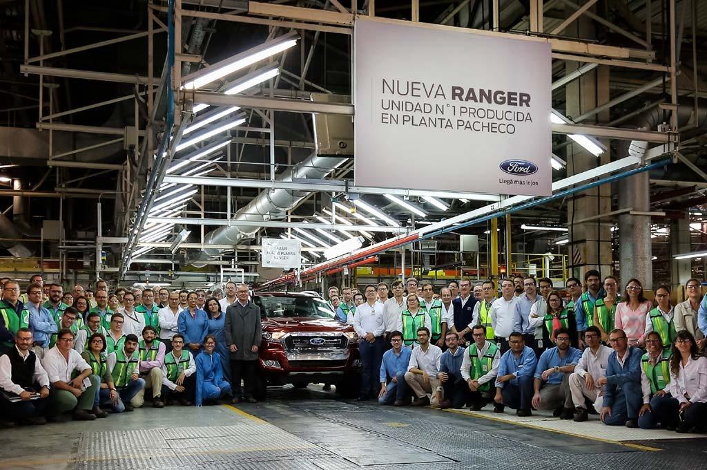 La Nueva Ranger 2016 sale de Pacheco