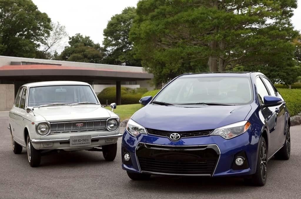 Toyota Corolla Generaciones
