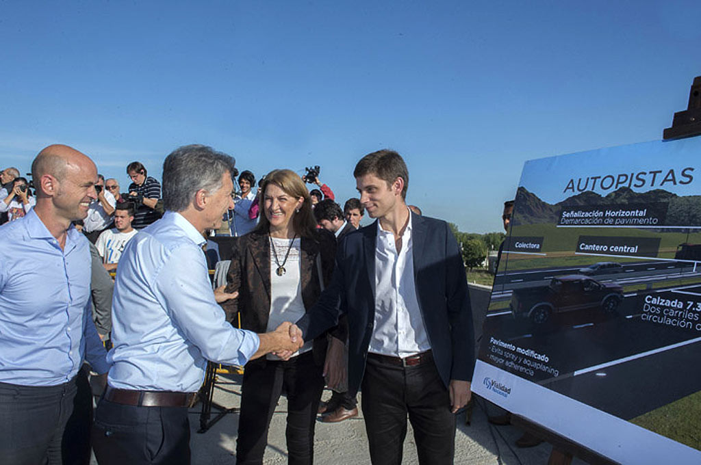 Macri prometió duplicar la cantidad de autopistas en los próximos cuatro años