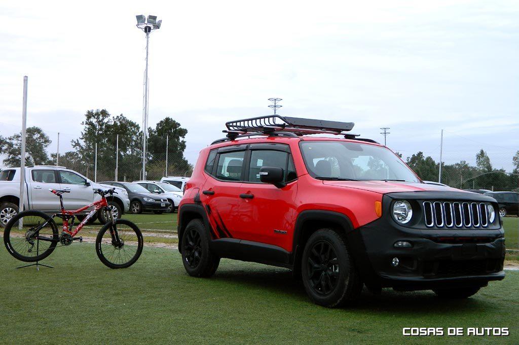 Jeep Renegade accesorizado