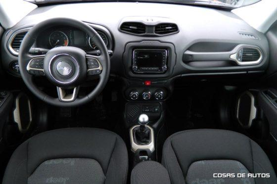 El interior del Jeep Renegade