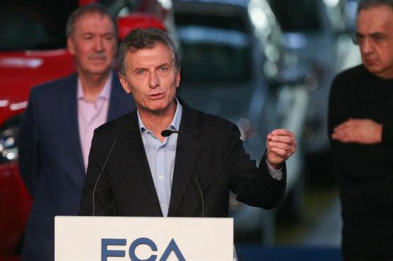 Macri destacó la importancia de la inversión y recordó su pasado en la compañía