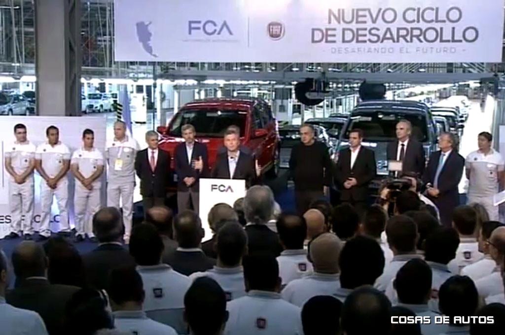 Macri destacó la importancia de la inversión y recordó su pasado en la compañía.