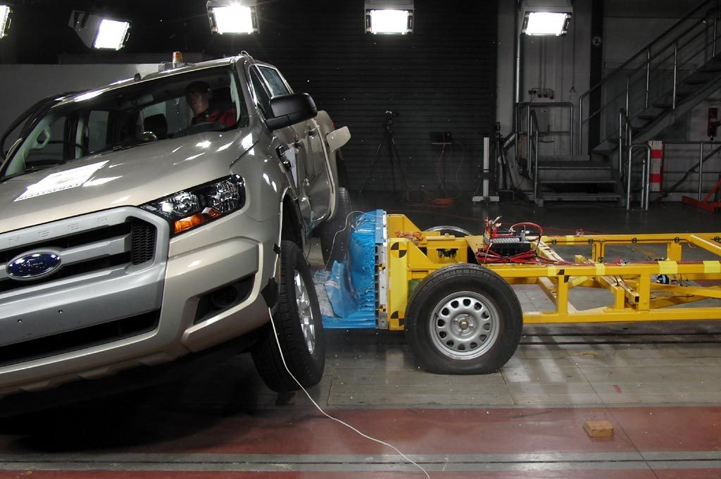 Nueva Ranger probada por Latin NCAP