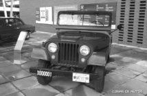 Primer vehículo salido de Fábrica Santa Isabel: un Jeep IKA.