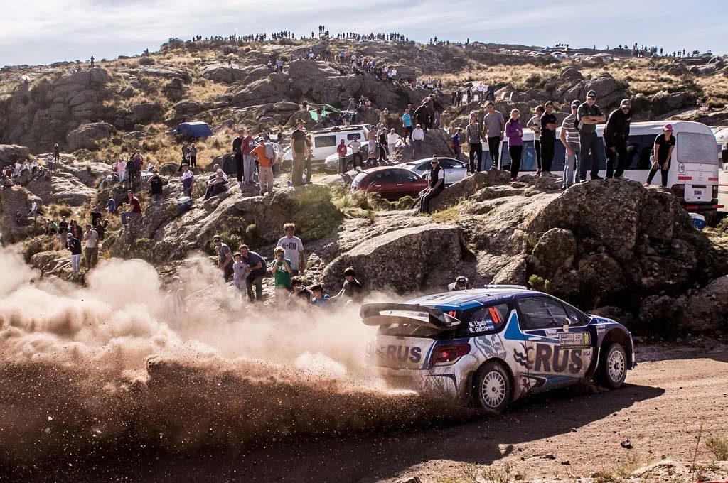 Ligato fue séptimo con un WRC