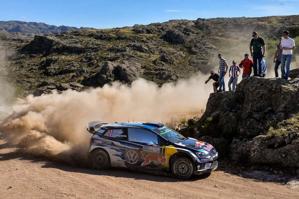 Ogier fue segundo en Rally de Argentina