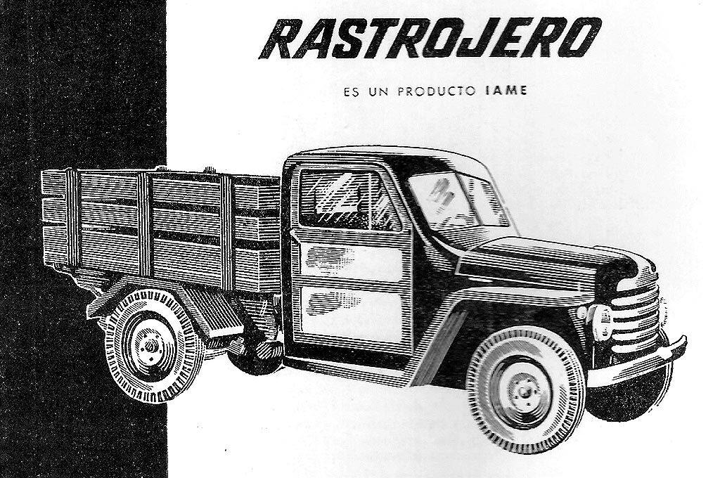 Rastrojero de 1952