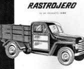 El Rastrojero será reeditado con diseño de la Fundación apadrinada por Pagani