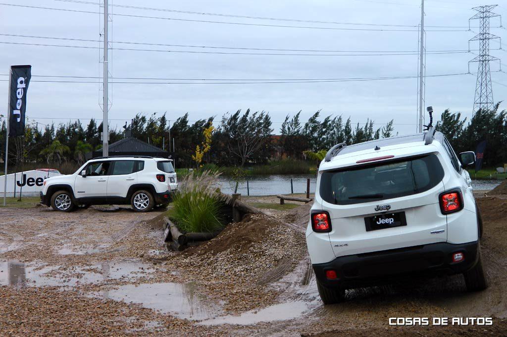 Renegade en el Jeep Park