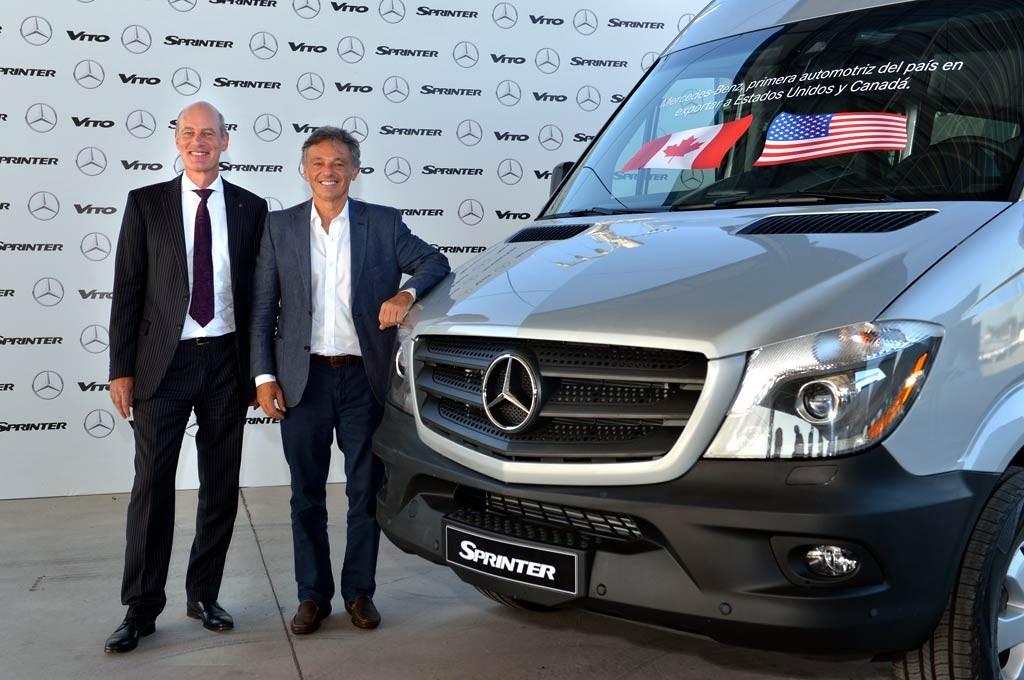 Mercedes-Benz inició exportaciones a EE.UU, y Canadá