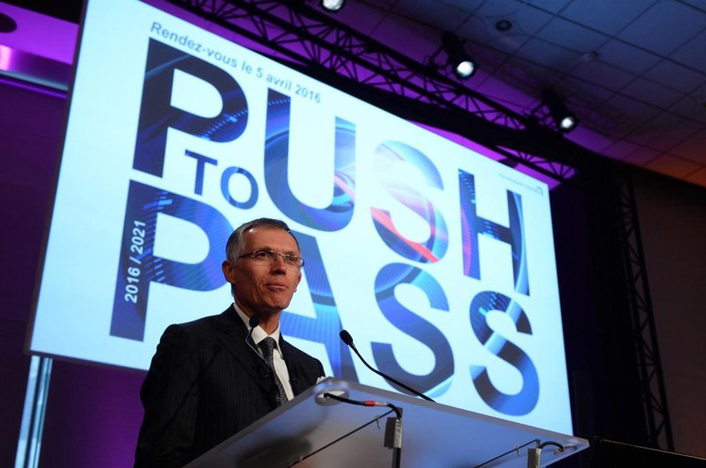 Tavares presentó el PushToPass