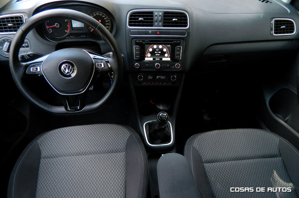 Test del Volkswagen Polo - Foto: Cosas de Autos