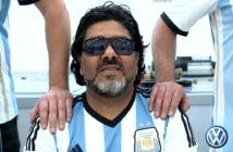 Volkswagen palpita el Rally de Argentina y homenajea a Maradona