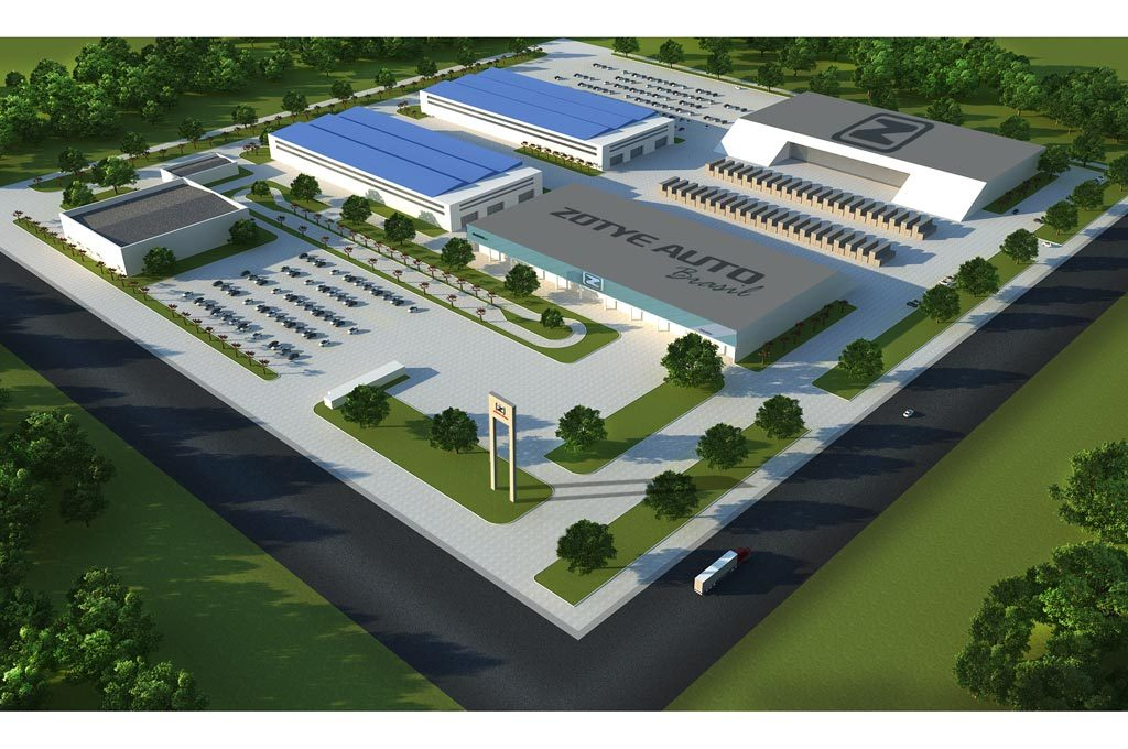 Zotye levantará una planta en Brasil