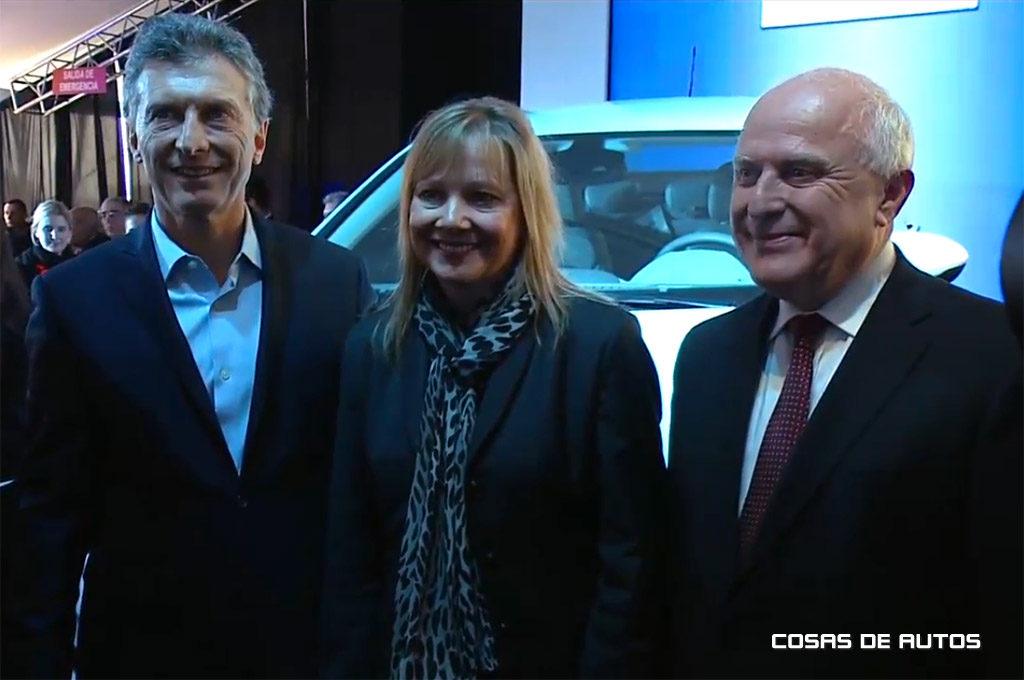 Macri y Barra juntos en GM Argentina