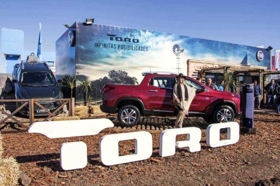 La Fiat Toro estuvo en Agroactiva