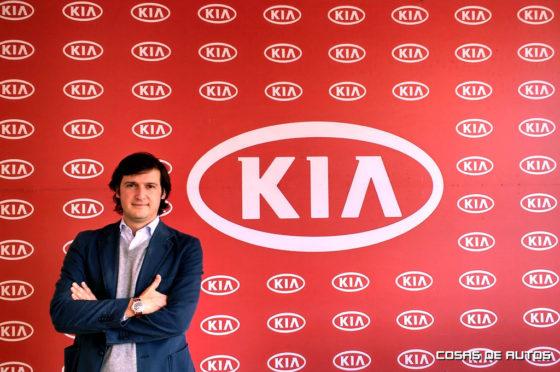 Ignacio Echevarría, flamante gerente general de Kia Argentina