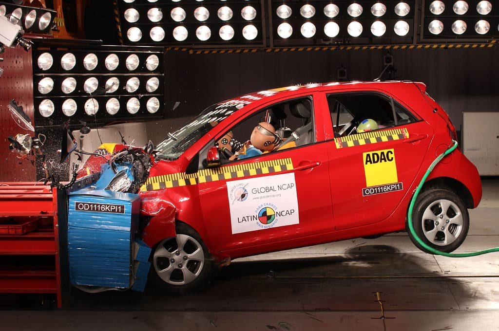 Latin NCAP ensayó el Kia Picanto