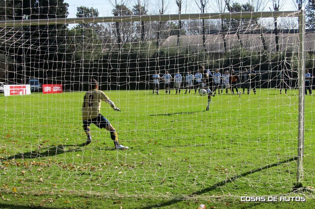 Penal y gol