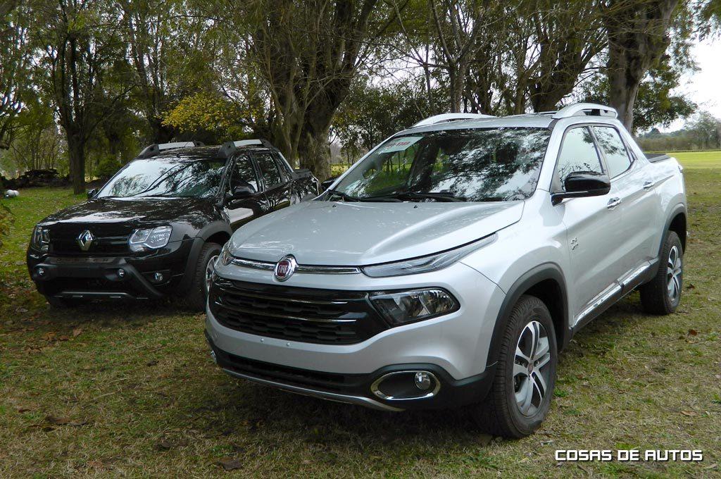 Renault Oroch y Fiat Toro