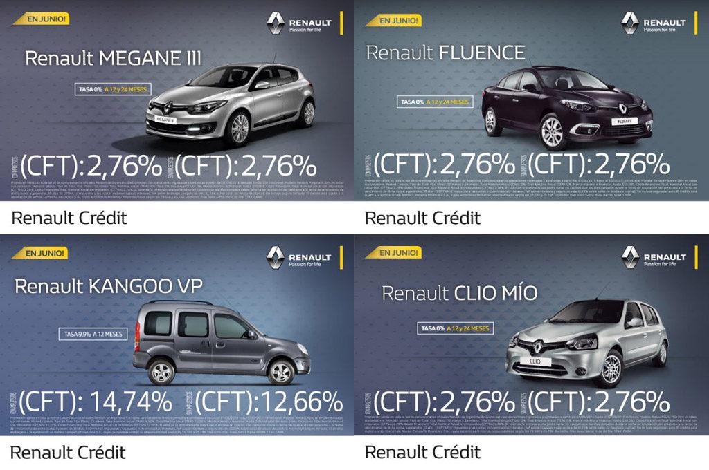 Durante junio, Renault ofrece bonificaciones y financiación especial