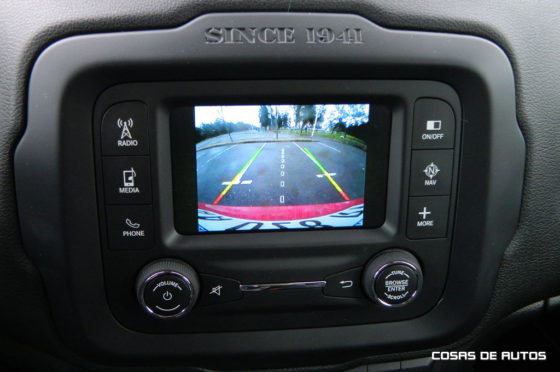 Test del Jeep Renegade Sport - Foto: Cosas de Autos