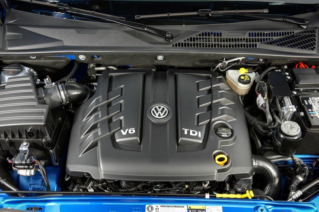 Al V6 de la Touareg se le redujo la potencia hasta los 224 cv.