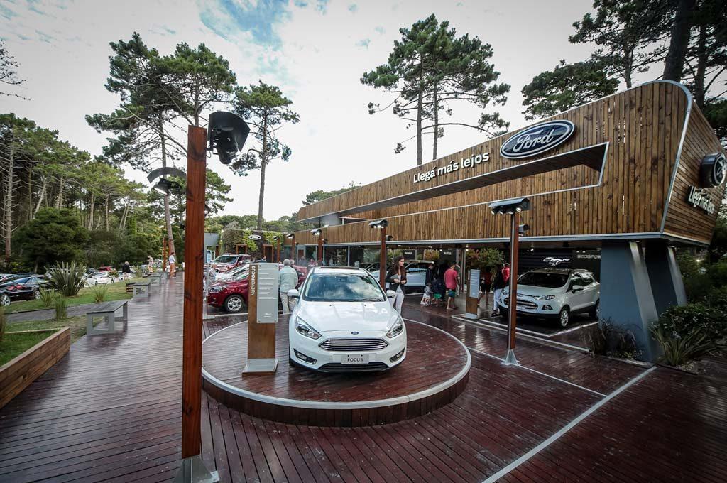 #Invierno2016: por cuarto año consecutivo, Ford está en Cariló