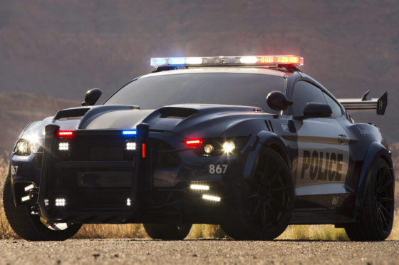 Ford Mustang de Transformers