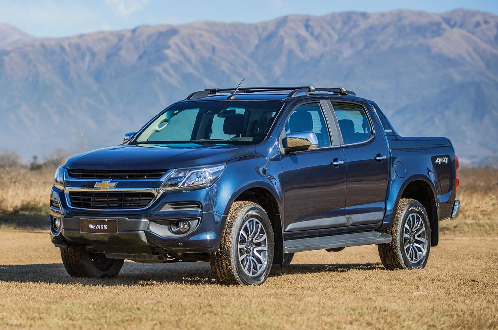 Argentina: Chevrolet presentó la Nueva S10 2017 con precios desde ...