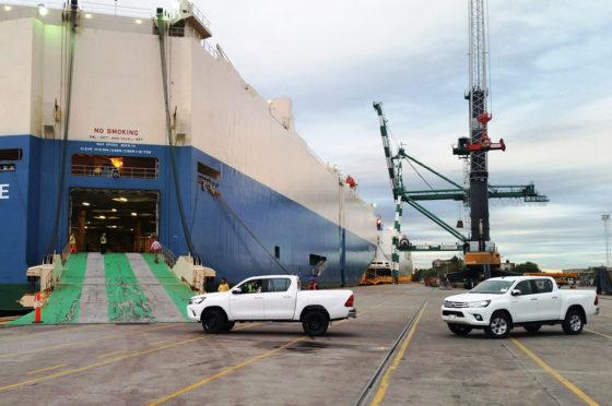 Exportaciones de Toyota Hilux