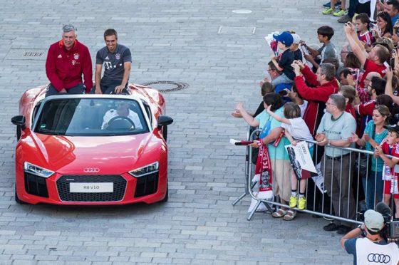 Bayern Munich inicia otra temporada junto a Audi