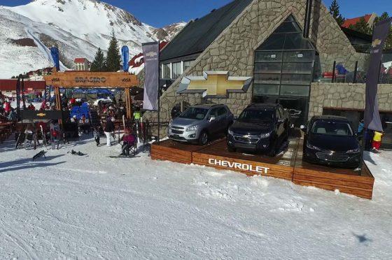 #Invierno2016: los últimos lanzamientos de Chevrolet están en Las Leñas