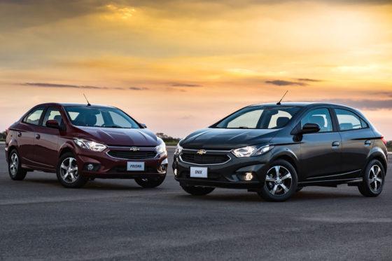 Chevrolet Prisma y Onix MY 2017