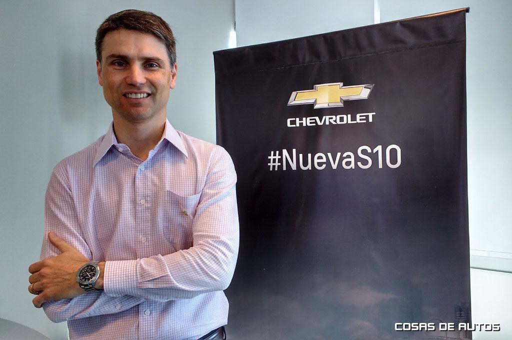 Rodrigo Fioco, director de MKT de GM Argentina