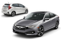 Honda Fit y New Civic