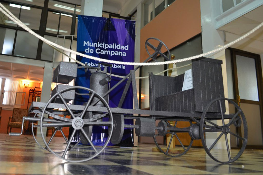 Homenajeron en España a Manuel Iglesias, creador del primer auto argentino