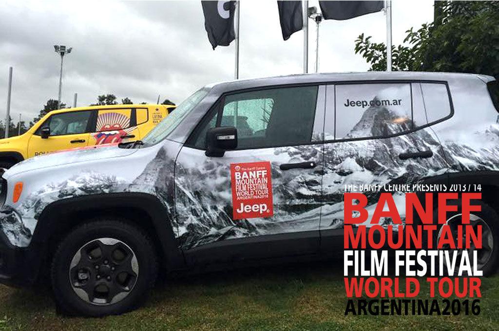 Jeep Renegade presenta la 16º edición del Banff Mountain Film Festival