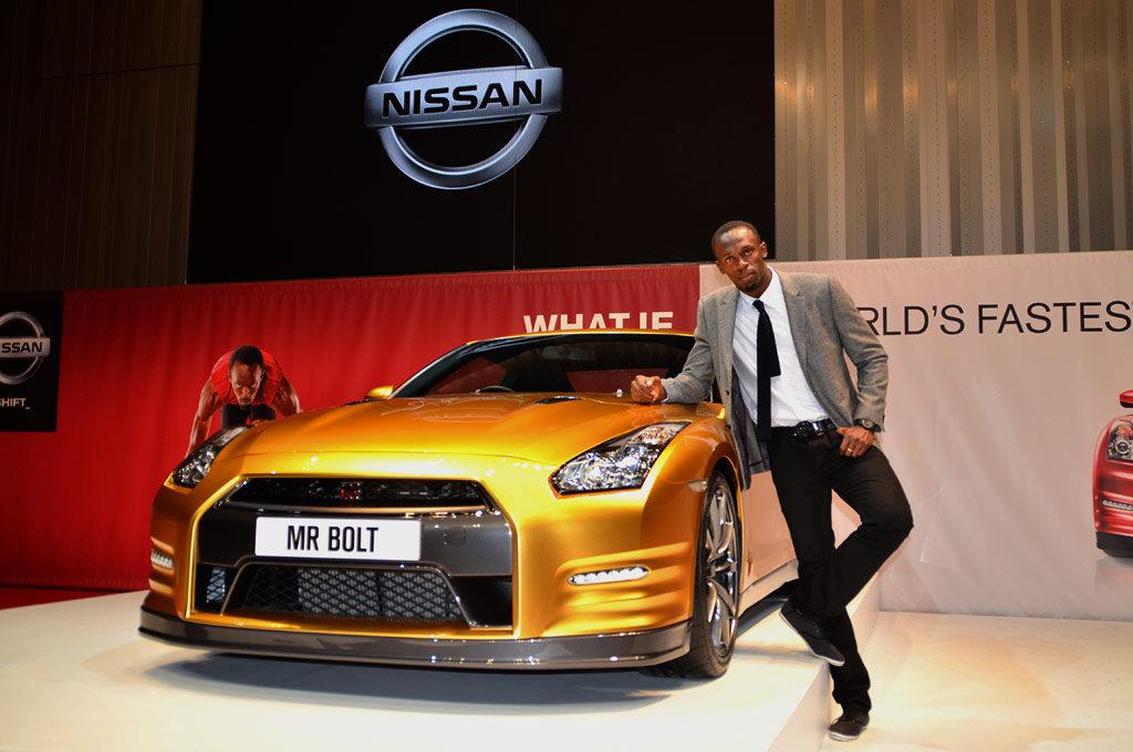 Nissan y Usain Bolt