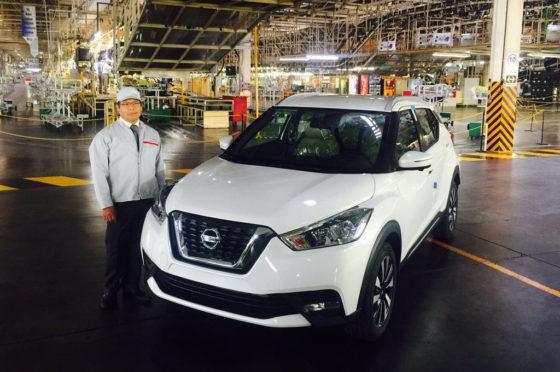 Se inició oficialmente la producción del Nissan Kicks