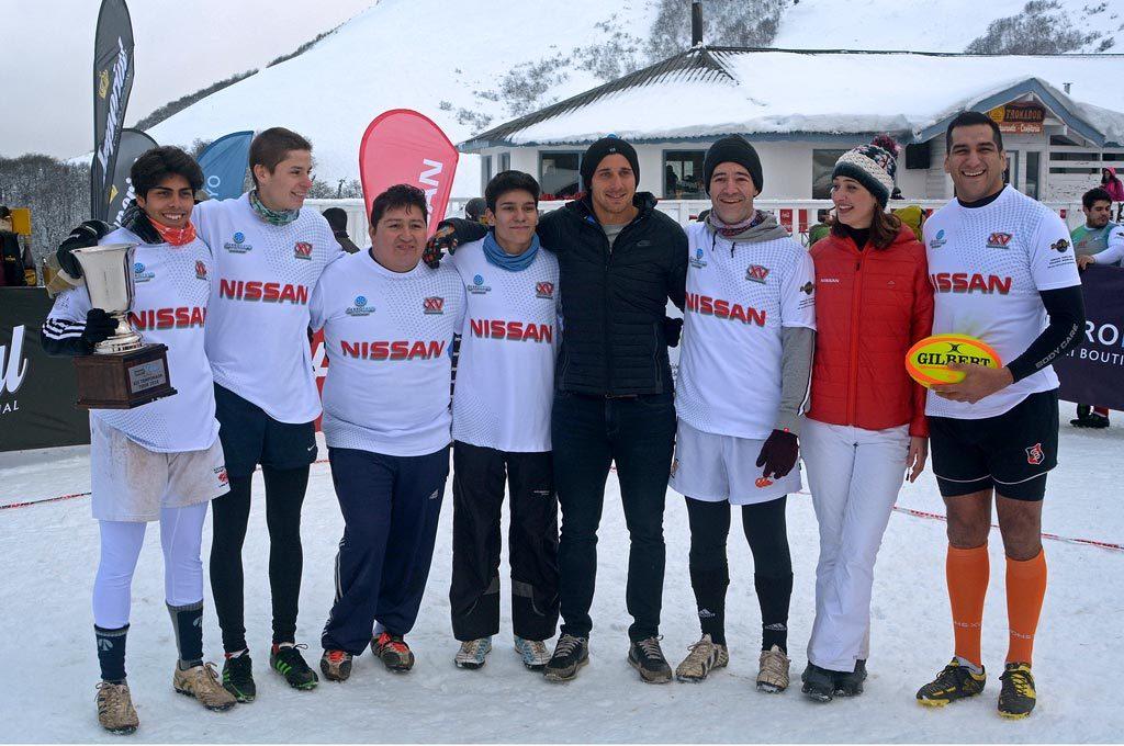 Nissan Rugby X Treme en Cerro Bayo