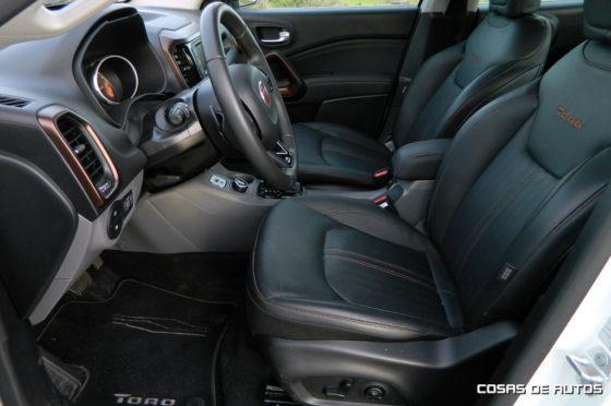 Test de la pick-up Fiat Toro Volcano 4x4 - Foto: Cosas de Autos