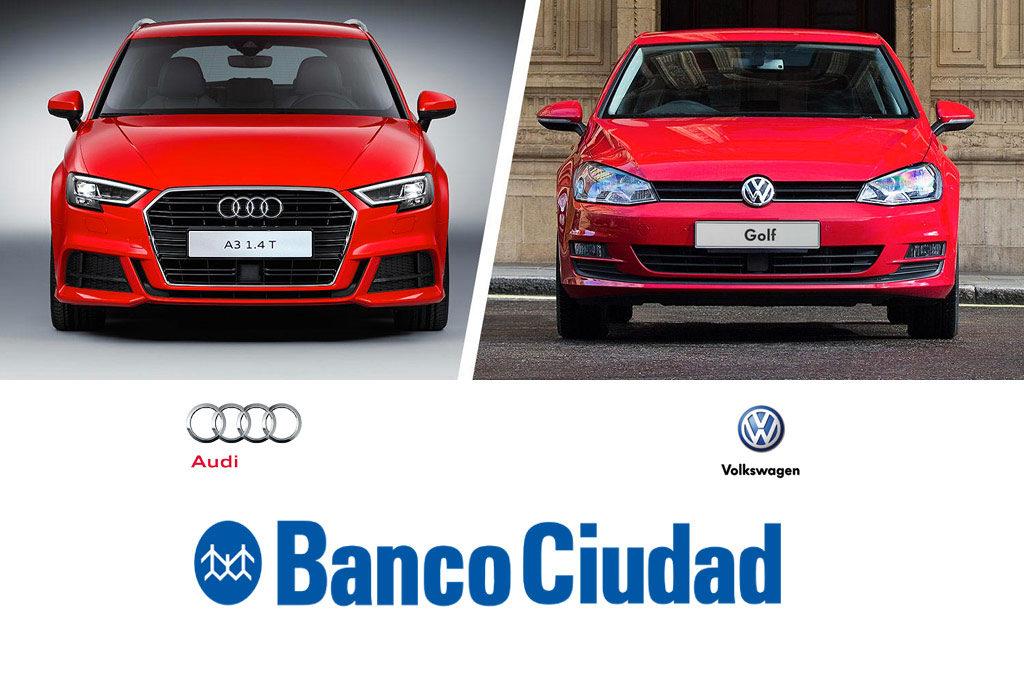Alianza de VW y Banco Ciudad para comprar vehículos Volkswagen y Audi financiados