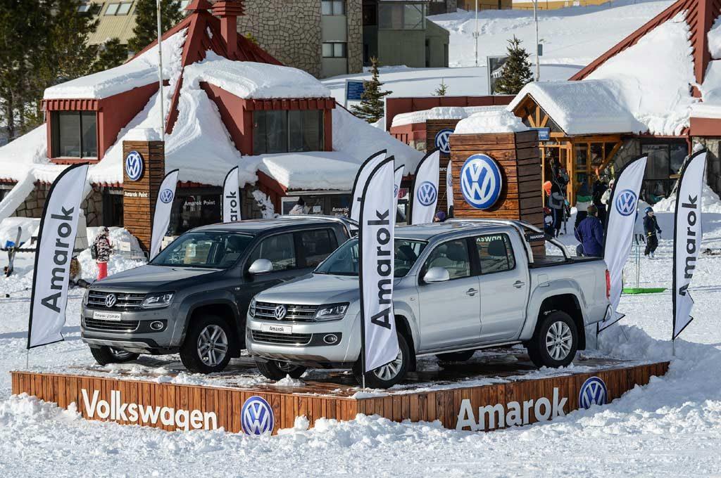 Volkswagen está en Las Leñas con su Amarok Point