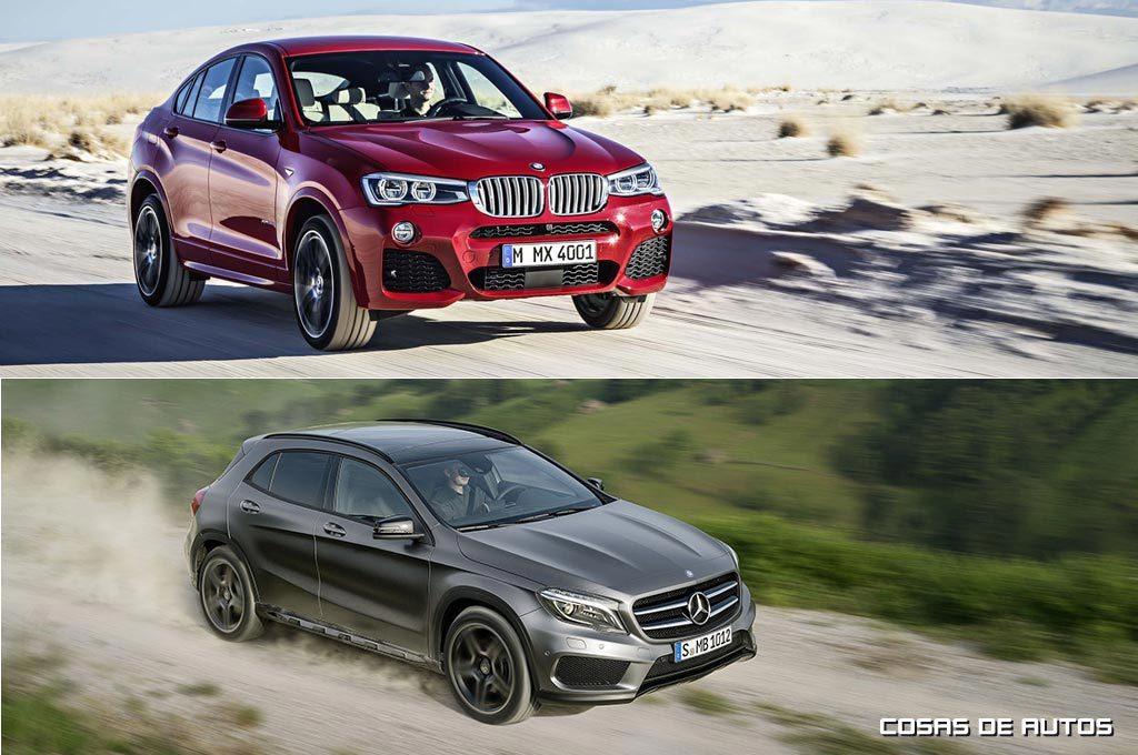 Comenzó la producción en Brasil del BMW X4 y el Mercedes-Benz GLA