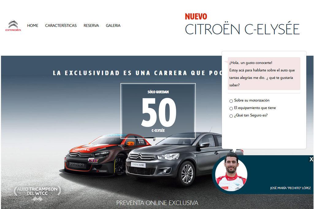 Arrancó la pre-venta del Citroen C-Elysée